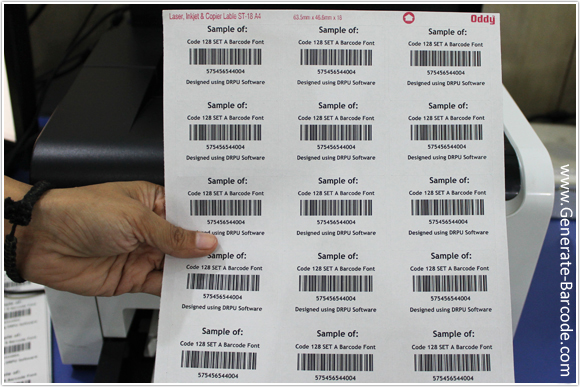 design barcode labels for industrial and shipping industry